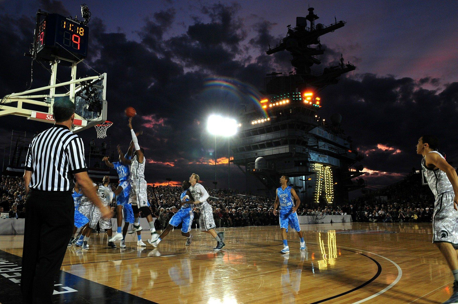 NCAA: Sportliche Studenten versetzen Nation in Ekstase