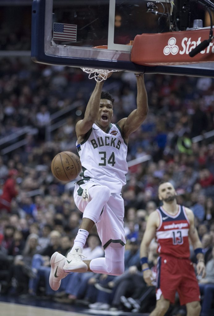 """Keith Allison from Hanover, MD, USA (https://commons.wikimedia.org/wiki/File:Giannis_Antetokounmpo_(39004611954).jpg), """"Giannis Antetokounmpo (39004611954)"""", https://creativecommons.org/licenses/by-sa/2.0/legalcode"""